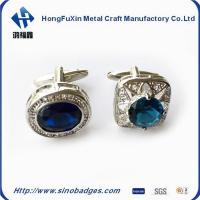 Best Classic Square Electroplating Paint Carved Men's Shirt Diamond Cufflinks wholesale