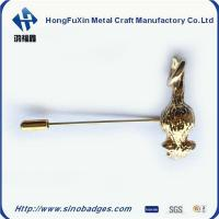 Best Boutique Enamel Gold Plated Embedded Brooch Pin wholesale