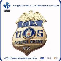 Buy cheap Custom Bronze Style Collection Commemorative CIA Special Agent 916 Badge from wholesalers