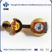 Buy cheap Gittar Shape 3D Badges for the Hard Rock Cafe for Entainment Pinned in the Uniform from wholesalers