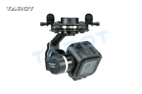 China Related gimbal Tarot Gopro T-3D IV metal gimbal HERO 4 SESSION TL3T02