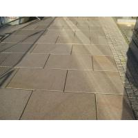 China Flamed/ Polished Misty Yellow Granite For Paving/Stairs/Floor