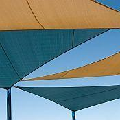 Buy cheap Commercial 95 Mesh Shade Sails in Standard Sizes from wholesalers