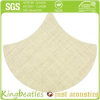 Best Wool Silk Decorative Acoustics Tiles for Sound Absorbing and Insulation in Office, Hotel wholesale