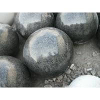 Construction Polished Black Granite G654 Stone Ball Sphere