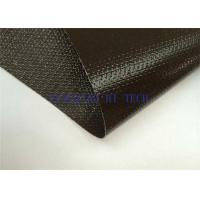 Best Different Colors Silicone Coated Fiberglass Fabric , Silicone Coated Lightweight Fiberglass Cloth wholesale