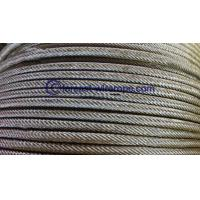 China Anti-twisting Steel Wire Rope 18*19S on sale