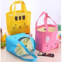 Best Fitness Insulated Non Woven Oxford Canvas Black Color Polyester Ice Cooler Bag Cooler Lunch Bag wholesale