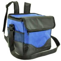 Best New Material Foldable Black Color Fabric Canvas Polyester Oxford Shoulder Ice Cooler Bag wholesale