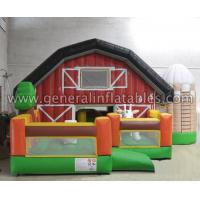 Quality GF-58 Inflatable farm funland wholesale