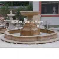 Quality Stone Sculpturebeige Marble Water Fountain (SY-032) wholesale