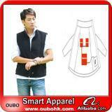 Best Apparel Fashion Waistcoat For Men Design with electric heating system heated clothing warm OUBOHK wholesale