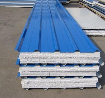 Details Of Eps Aluminium Sandwich Roof Panels