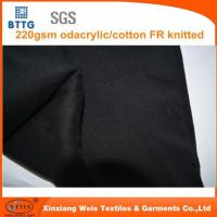 Best 220gsm Modacrylic/cotton Interlock Knitted Fabric wholesale