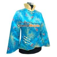 China Women Blouses Silk Chinese style jacket on sale