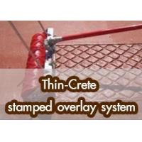 Best Thin-Crete stamped overlay system wholesale