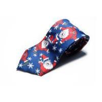 Best Necktie Contact Now 100% Polyester Printing Christmas Neckties wholesale