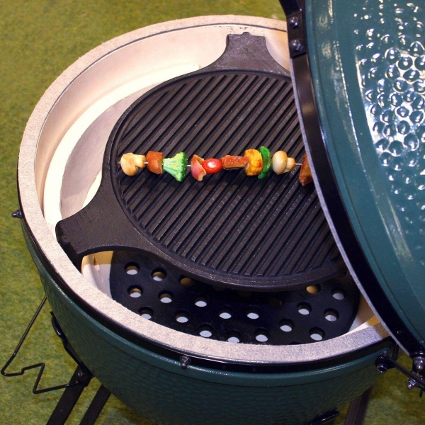 Cheap Cast Iron Plate Setter - Fits LARGE Big Green Egg for sale