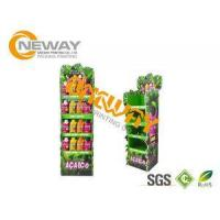 Best Energy Drinks Free Standing Cardboard Displays / Foldable Display Stand wholesale