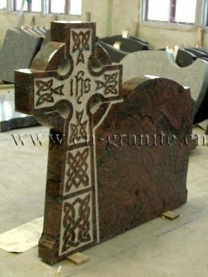 Cheap Imported Granite (17) Tombstone TS036 for sale