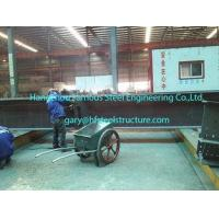 Quality Fabricating Pre Engineered Commercial Steel Buildings With H Section Pillars / Beams wholesale