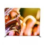China 10ft Straight Tension Fabric Backwall Backdrop Display on sale