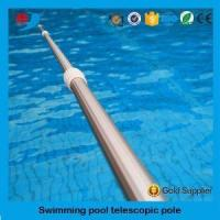 Best Fishing Swimming Pool Hang Aluminum Telescopic Pole with Plastic Accessories wholesale