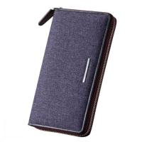 Best Vintage Canvas Wallet Card Case Organizer Checkbook Clutch Bag wholesale