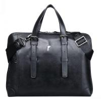 Buy cheap Leather Vintage Large Capacity Briefcase from wholesalers