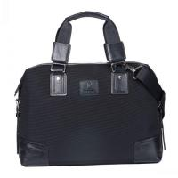Best Men Oxford Canvas with Leather Leisure Briefcase Bag Large Capacity wholesale