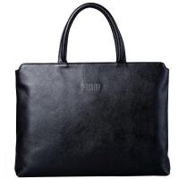 Buy cheap Black Leather Briefcases Show Business from wholesalers