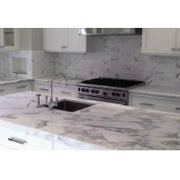 Best Carrara White Black Marble top dining coffee table white marble countertops wholesale