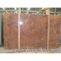 Juparana Bordeaux Granite Slab
