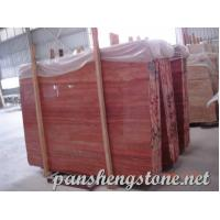 Quality red travertine Marble Slab wholesale