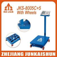Electronic Platform scale JKS-8006C+5 wheels