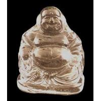 Best Crystal Glass Art Chinese buddha Figurine wholesale