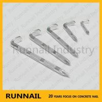 Step Grooved Concrete Nail
