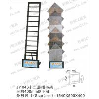 Quality JY043 wall cladding tiles exhibition shelf manufacturer in foshan wholesale