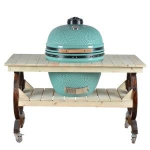 China BBQ Old Wooden Grill Table