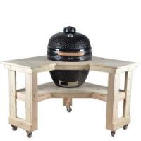 Buy cheap BBQ Corner Wooden Kamado Table from wholesalers