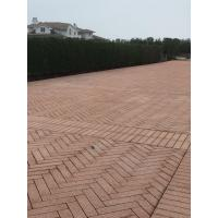 Quality Garden stones red pavement stone wholesale