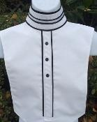 Buy cheap Ready to Ship(70) #RS405B Solid White with Double RIbbon collar from wholesalers