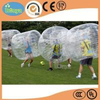 Best Hot Selling Human Sized Soccer Bubble Ball/Inflatable Bumper Ball/Hamster Ball for Sale wholesale