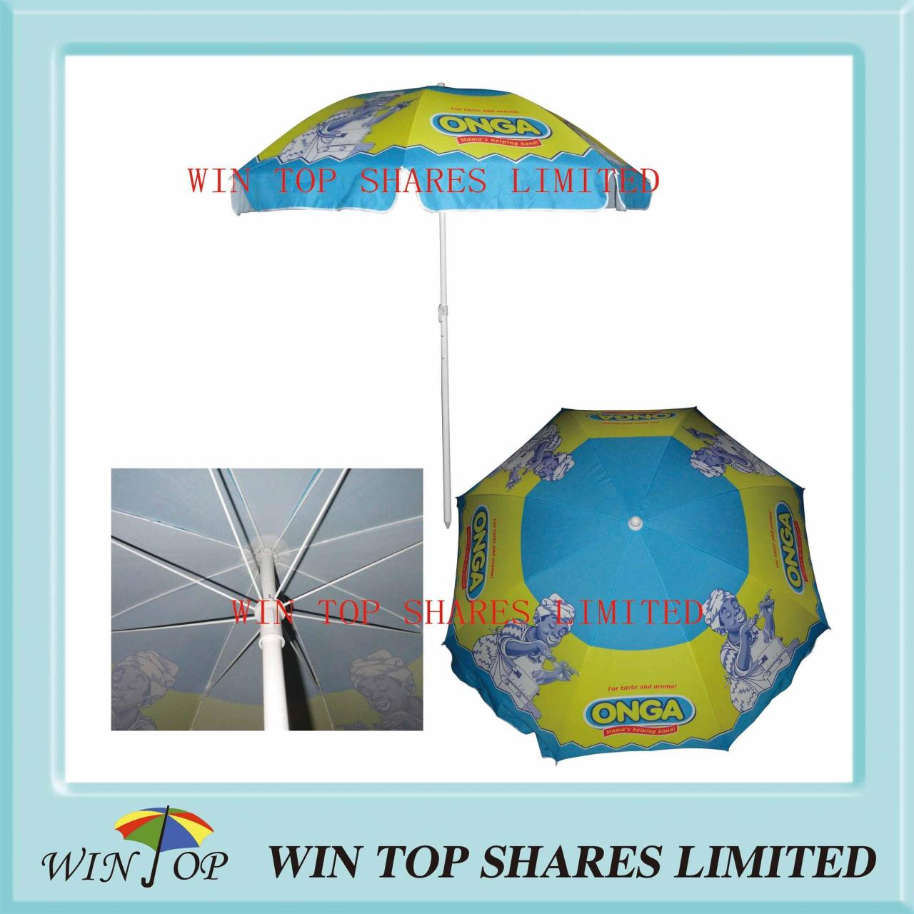 "Best 40"" Fashion Advertising Beach Umbrella wholesale"