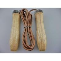 China Crossfit Leather Jump Ropes on sale