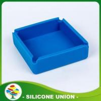 New Design Hot-sell Blue Silicone Ashtray