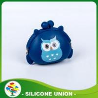 Best Silicone Dark Blue Coin Purse Non-toxic Coin Wall wholesale