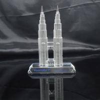 Quality Miniature Crystal Building Crystal building model wholesale