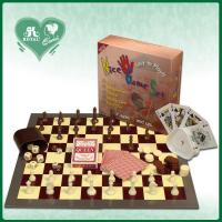 Best 5 in 1 Chess Game Set: Chess Backgammon Checker Playing cards Poker dice (DK501) wholesale