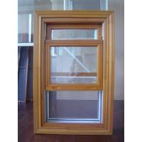 China Wooden frame double hung window glass replacement on sale